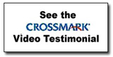 See the Crossmark Video Testimonial